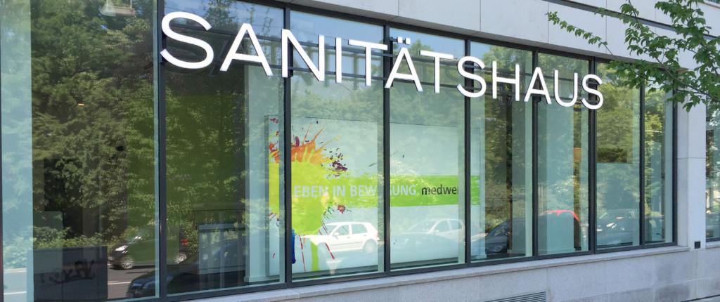 Sanitätshaus medwerk am Pradus in Düsseldorf